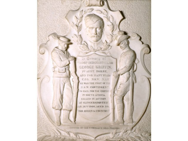 George Griffin Memorial Plaque