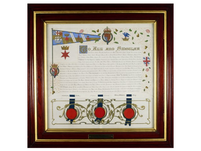 Grant of the City Badge