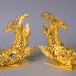 Replica Golden Dolphins